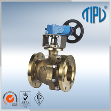 High Pressure Big Size Brass Ball Valve For Anticorrosion