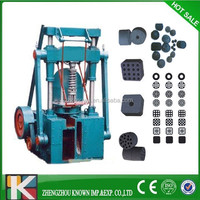 promotional charcoal powder briquetting machine/ coal briquette making machine price