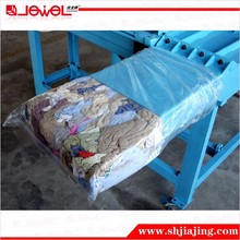 5kg Bale Horizontal Fixed Weight Hydraulic Rag Baler Machine
