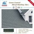 Colorful Classical Types /Stone Chips Coated Steel Roof Tiles
