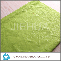 High quality polyester staple fiber embossed brocade fabric