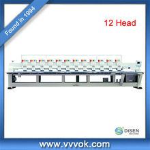 12 head computerized embroidery machine