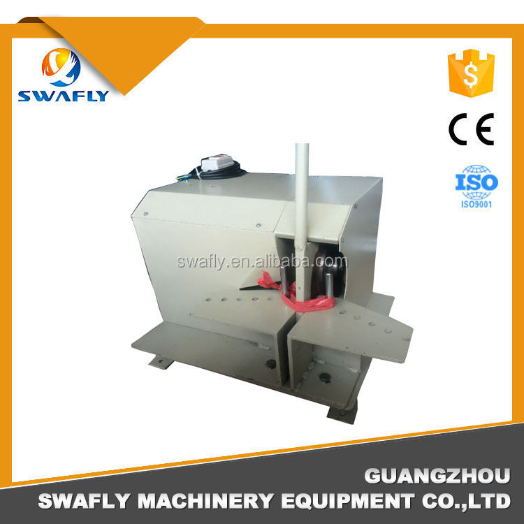 China rubber tube cutter SF51 hydraulic rubber hose cutting machine