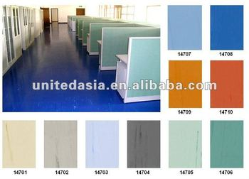 PVC homogeneous flooring 2.0mm*2.0m*20m/roll