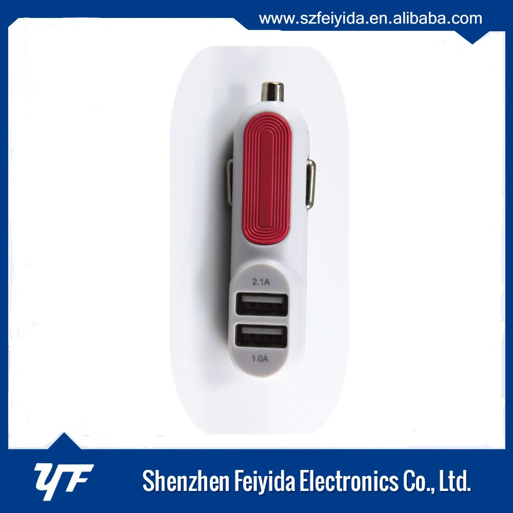 Customized logo best-Selling solar car charger in China