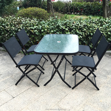 Jamaica Nairobi Garden Furniture Outdoor Dining Table with Chairs