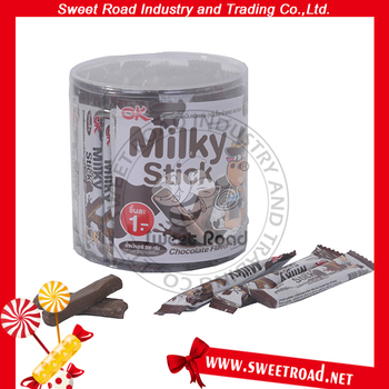 Chocolate flavor Milky Stick Candy
