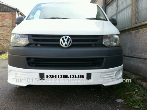 VW Transporter T5.1 Panel VAN Front Bumper spoiler S line. 2010 ONWARDS