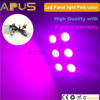 Romantic pink color Panel 6*SMD5050 interior dome light led dashboard light