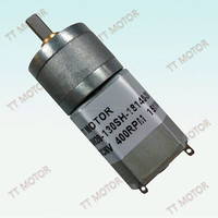 small powerful 6/12v dc gear electric car toy motor with metal gear head