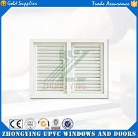 Single glass design casement window with top arch fixed window