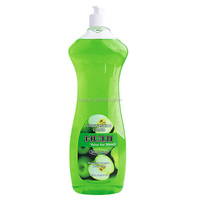 Hot sell Green apple essence dishwashing liquid detergent