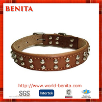 2016 High Quality Competitive Price Custom Padded Leather Dog Collar