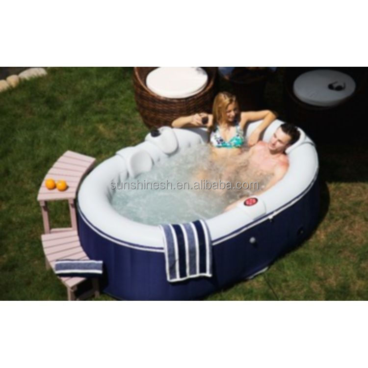 soaking tub and inflatable swimming spa pool with CE