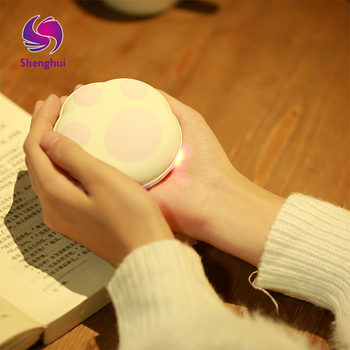 5000MA Large Capacity Warm Hands Treasure Portable Magic Paw Hand Warmer High/Low Heating Electric Heater