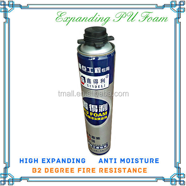 750ML WATERPROOF PU FOAM SEALANT FOR DECORATING HOUSE , GAPS FILLER
