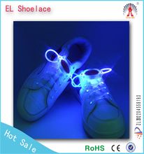 Christmas Party Favor Round New Year flashing light up led shoelace
