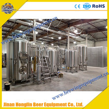 Commercial/Industrial Pub Micro Beer Brewery Equipment , Brew House For Home Brewing Wort Processing