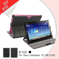 For ASUS MeMo Pad HD 10 leather case, tablet covers for memopad 10 me102a