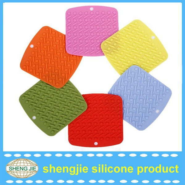 Kitchen Accesories Silicone Trivet Silicone Kitchen Trivets Mat, Silicone Table Mat Placemat, Silicone Pot Holder