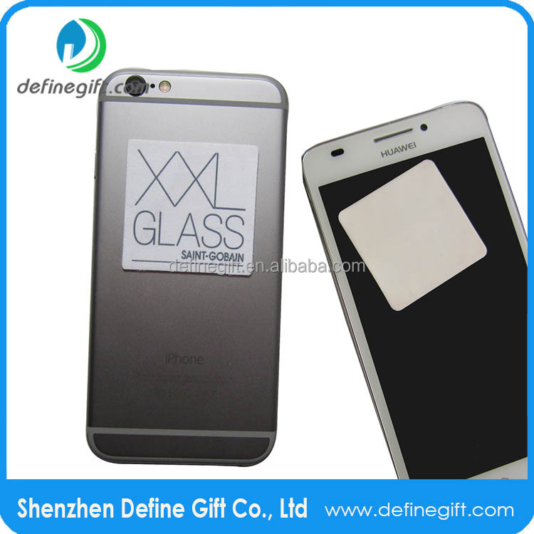 500pcs Free Shipping <strong>DHL</strong> 55*90mm paper card 50*50mm Sticker Cleaner