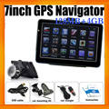 Wince 6.0 OS 7inch Global Mediatek Vehicle Navigator GPS With 4GB Built in Memory and Free SAT NAV Maps