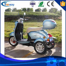 48 v voltage electric scooter motorcycle on hot sale in oversea tricycle market