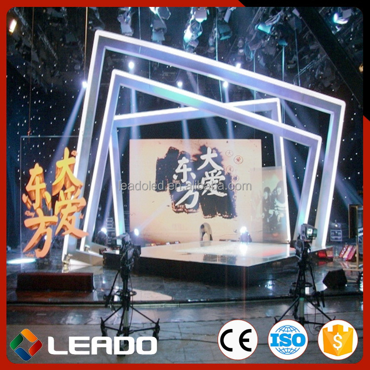 Professional manufacturer High quality display rental advertising led rgb