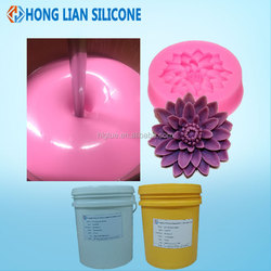 two part rtv silicone rubber make candy mold food grade liquid silicon manufacture