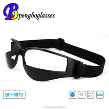 Soft material basketball dribbling aid glasses without glasses