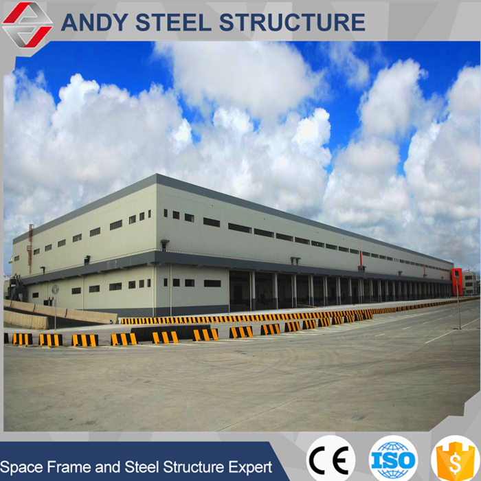 Industrial steel structure workshop/warehouse shed/building