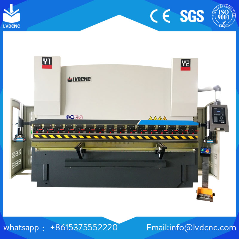WC67K 400T/4000 CNC stainless steel bending machine price 5mm plate press brake