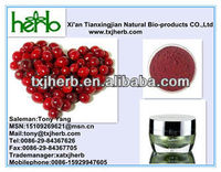 100% Natural Motherwort Chinese Cranberry P.E with Cyanidin 10%15%20%25% HPLC from ISO Factory