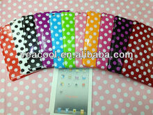 "Polka Dots Soft TPU Case Cover for iPad Mini 7""tablet"