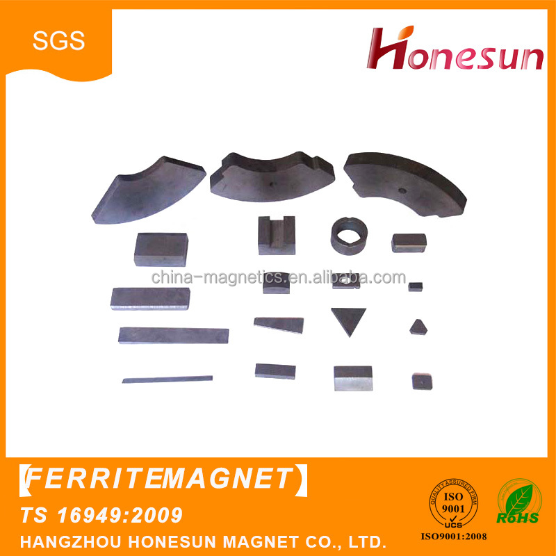 New product promotion customized Various shaped permanent ferrite magnets