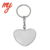 Factory Supply Attractive Style Fashion Letter Shape Metal Keychain