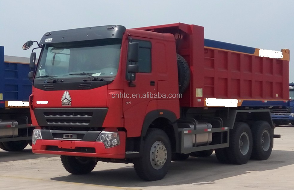 China Factory Hot Sale SINOTRUK HOWO A7 6X4 International Dump Trucks Tire Size