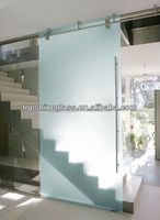 Frosted Decorative glass partition with EN12150 certificate