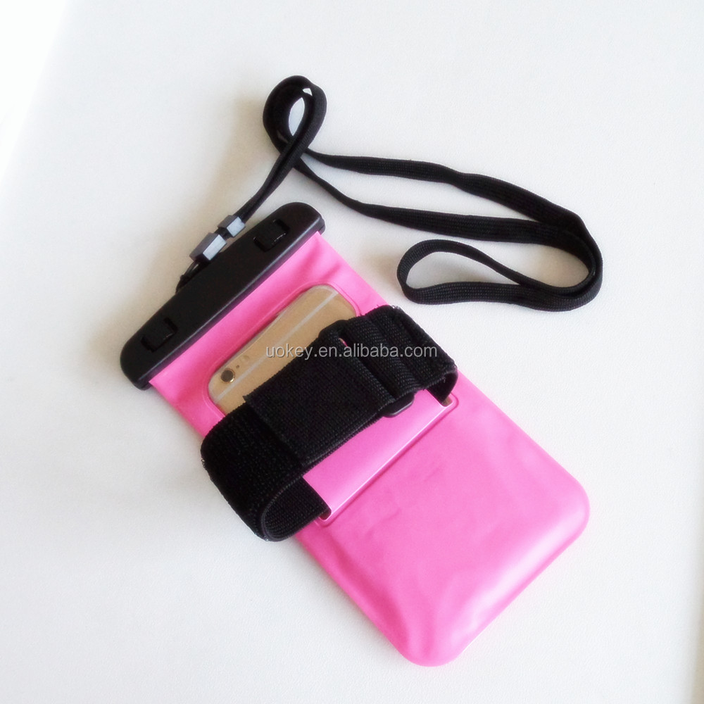 2017 sports mobile arm band pouch waterproof bag cell phone armband case for iphone 6 plus