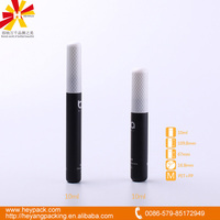 10ml black round plastic tube for mascara