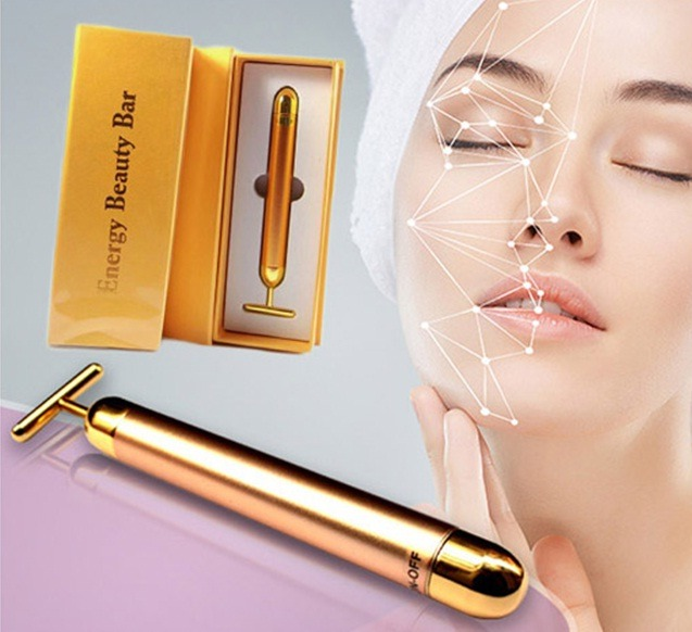 2016 Wholesale Best Vibrating Facial <strong>massager</strong> 24k beauty bar