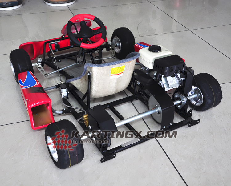 best cheap 4 Wheel adult pedal gas racing go kart for racing with off road tyre