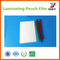Glossy PET Thermal Laminating Film Pouch for ID card