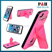 Newest product phone case protective for iphone 6 4.7 inch leather back cover