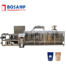 high speed cashew nut doypck with zipper packing machine