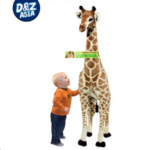 exhibition animal models classic motorized Baby animal/giraffe