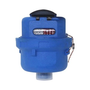 plastic volumetric rotary piston type class c water meter