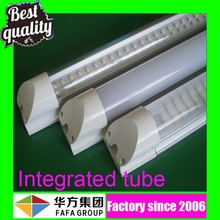 High quality 110lm/w CRI>80 300-2400mm integrated light fixture sex animals men and women price led tube light t8