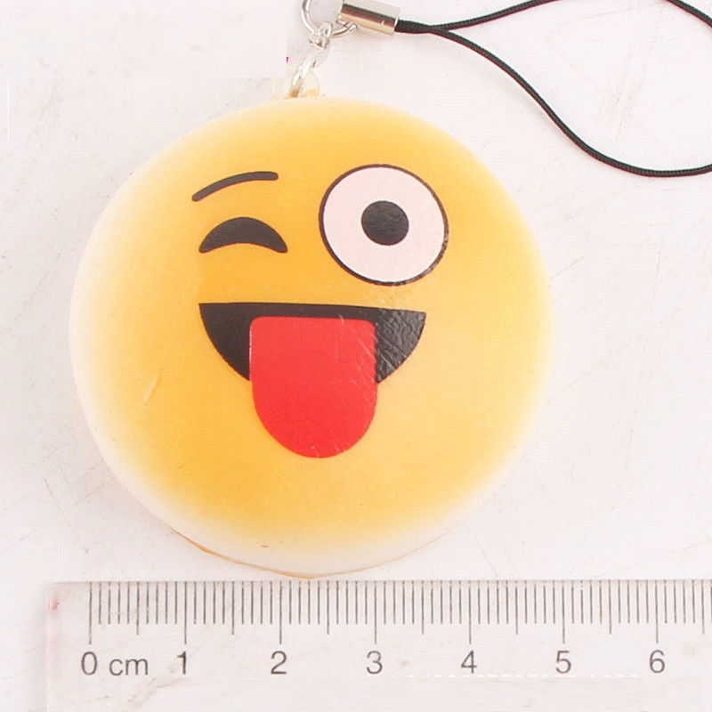Newest stress replief toy 10 pcs in a pack random packing Kawaii Jumbo PU squishy slow rising squishy