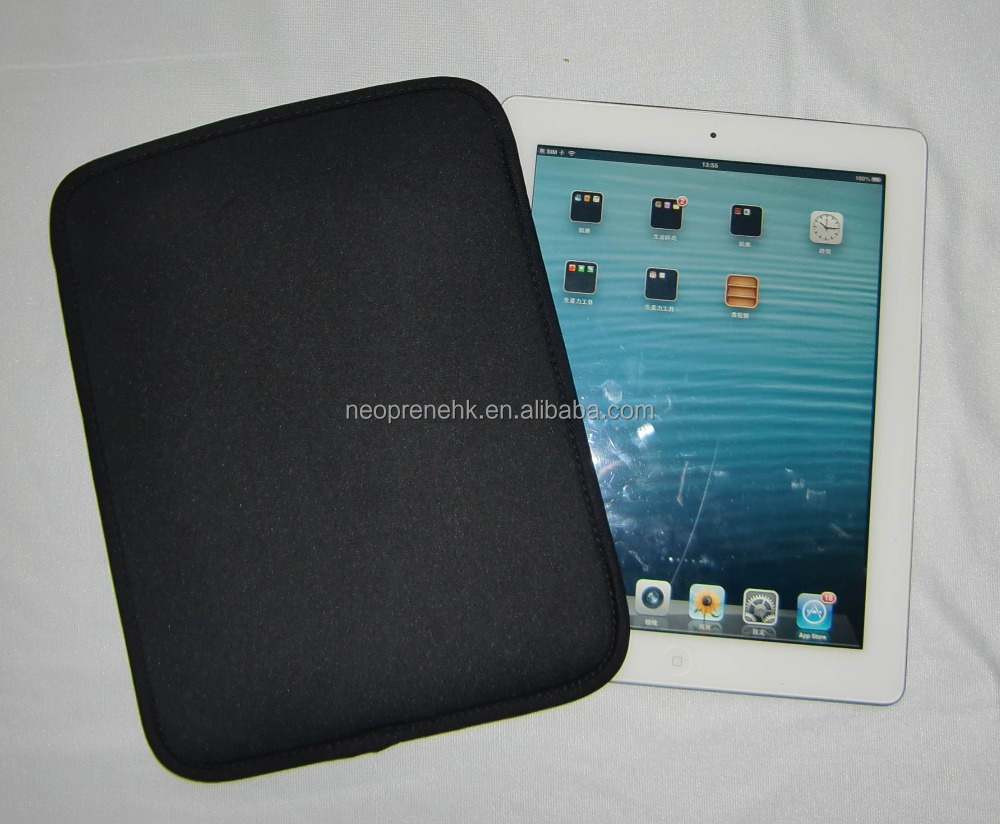Black Smart Cool for IPad mini Neoprene Tablet sleeve